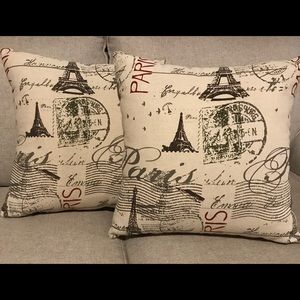 Paris Accent Pillows